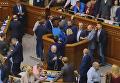 Рада принимает законы по Донбассу. Видео