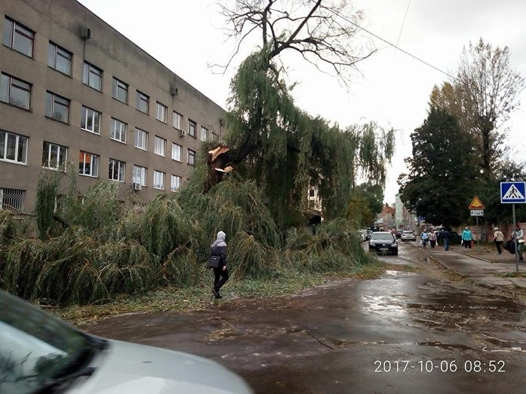 Последствия непогоды в Украины, 6 октября 2017