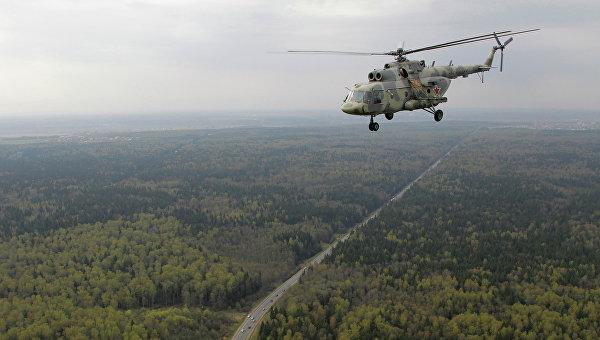 Вертолет Ми-17, архивное фото