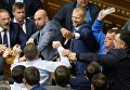 Потасовка между депутатами Рады