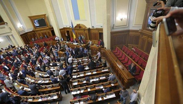 Заседание Верховной Рады Украины, в Киеве, 6 октября 2017