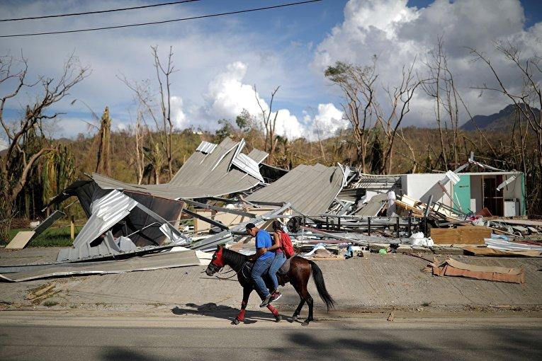 Последствия урагана Мария в Пуэрто-Рико