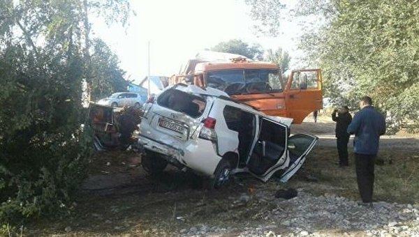 Вице-премьер Киргизии Темир Джумакадыров погиб в автоаварии