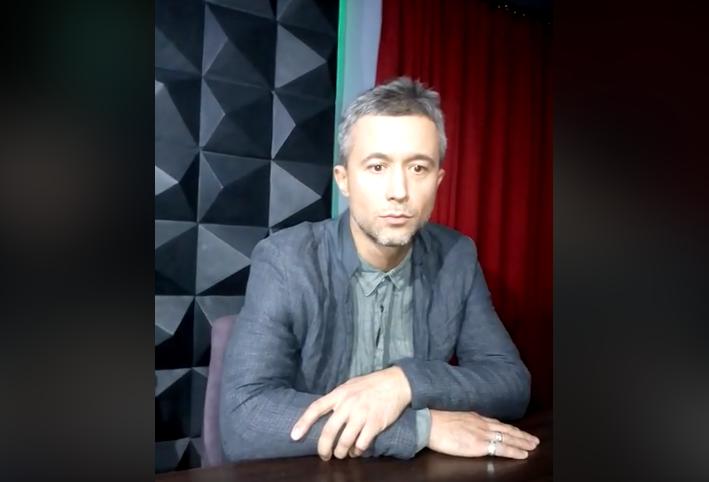 Сергей Бабкин в ходе переговоров с противниками концерта во Львове, 7 октября 2017