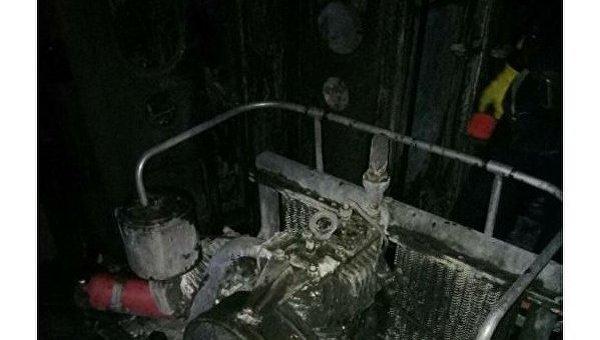 Под Николаевом во время движения загорелся пассажирский поезд