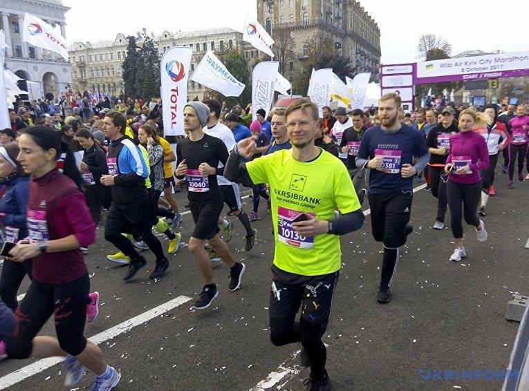 Киевский марафон в Киеве, 8 октября 2017