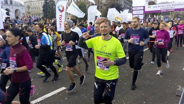 Киевский марафон. Архивное фото