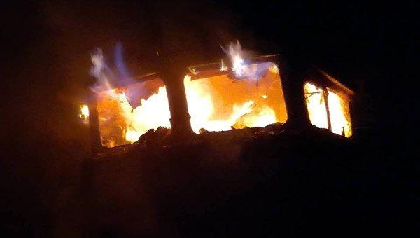 Пожар в поезде Николаев - Киев