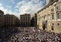 Митинги в Каталонии за единство Испании