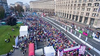 В Киеве прошел Wizz Air Kyiv City Marathon 2017