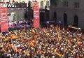 Митинг за единую Испанию в Барселоне