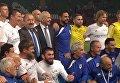 К юбилею Путина Кадыров организовал матч с ветеранами итальянского футбола. Видео