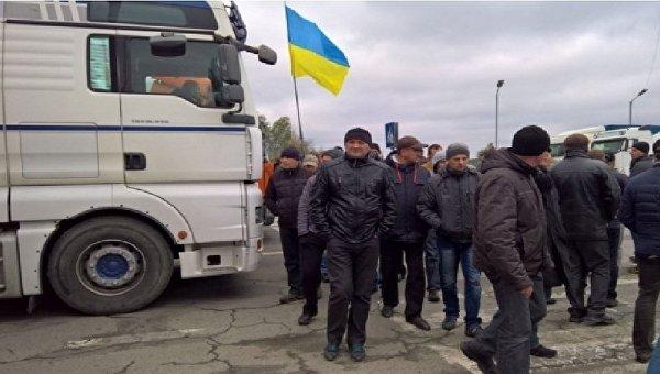 Шахтеры заблокировали движение у границы с Польшей
