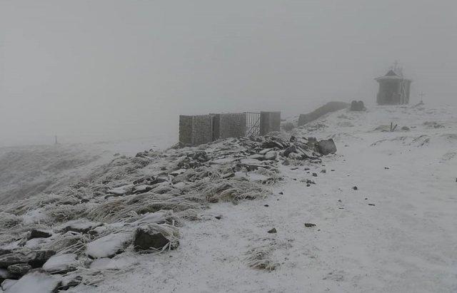 В Карпаты пришла зима