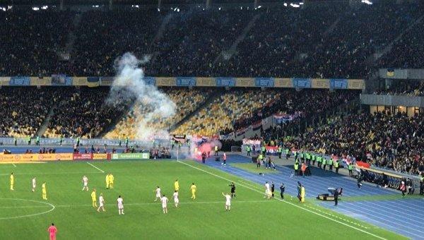 Матч на ЧМ-2018 между Украиной и Хорватией