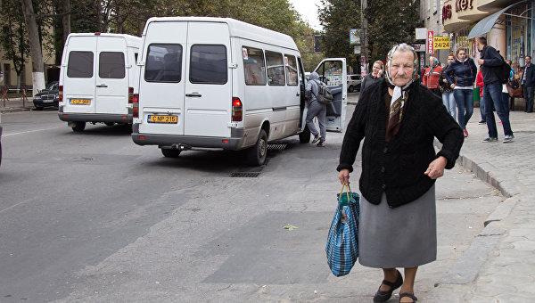 Молдавская пенсионерка
