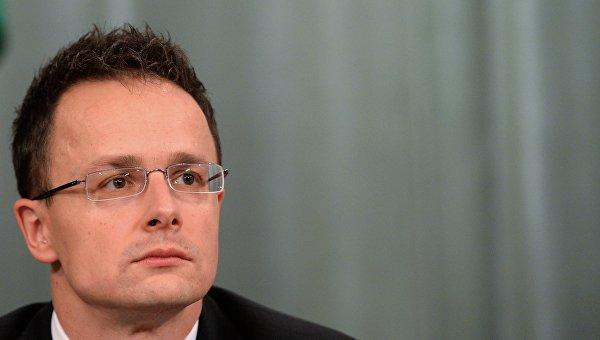 Глава МИД Венгрии Петр Сиярто. Архивное фото