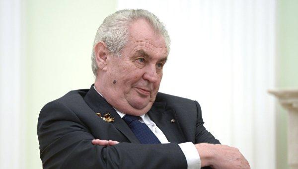 Гройсман переживает опсихическом здоровье руководителя Чехии из-за его слов оКрыме