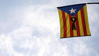 Флаг Каталонии.