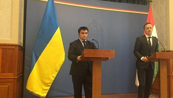 Климкин выполнил  визит вВенгрию: Разъяснил главе МИД детали закона обобразовании