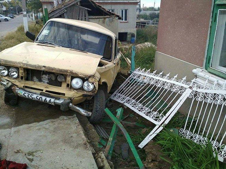 ВОдесской области нетрезвый шофёр ВАЗ наехал на 3-х пенсионерок, женщины погибли