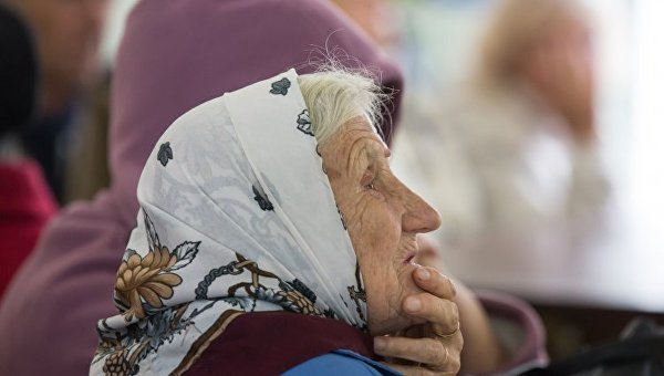 Пенсионерка. Архивное фото