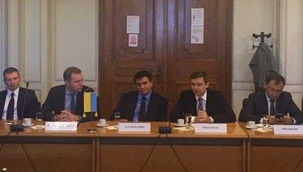 Министр иностранных дел Павел Климкин в Румынии