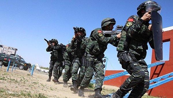 Антитеррористические учения в Китае
