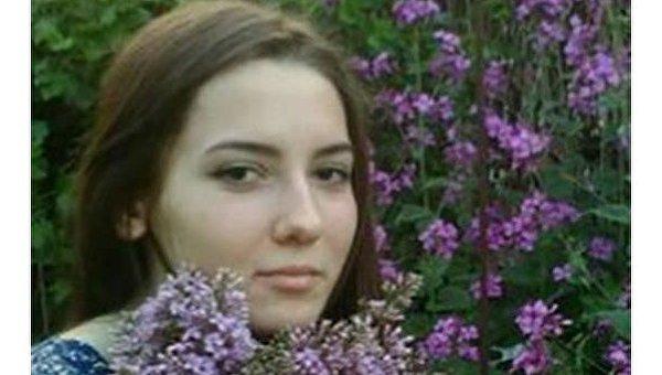 Погибшая студентка Алина Омельченко