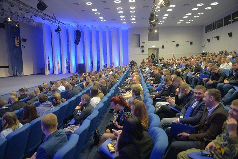 Съезд Национального корпуса в Киеве, 14 октября 2017