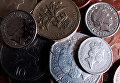 Монеты Великобритании достоинством в 1 фунт