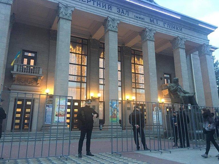 Концерт Бабкина вЗапорожье необошелся без потасовки