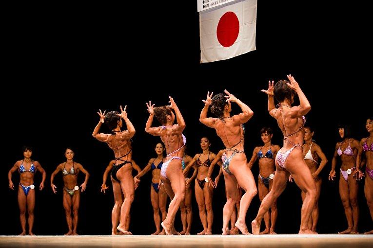 Чемпионат по бодибилдингу в Токио