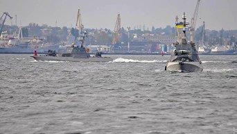 Новые бронекатеры Гюрза вышли на ходовые испытания под Одессой