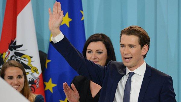 Лидер Австрийской народной партии, министр иностранных дел Австрии Себастьян Курц