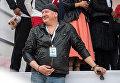 Актер Дмитрий Марьянов на ежегодной благотворительной акции Стань Первым! в Московской области.