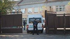 На месте убийства директора предприятия в Ужгороде