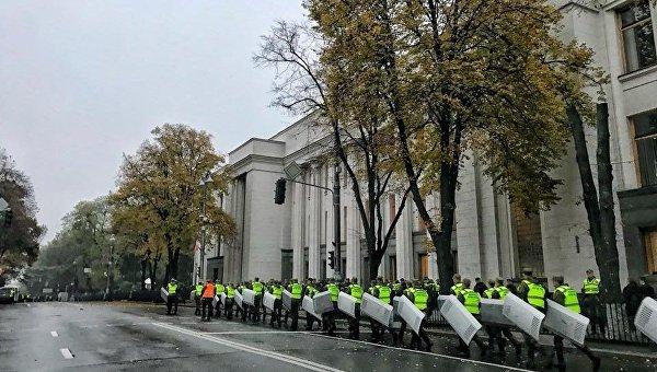 ВАП назвали причину перекрытия улиц вцентре украинской столицы