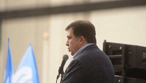 Украинские власти готовились к съезду Саакашвили совчерашнего вечера, поведала журналистка