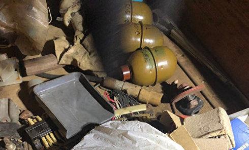 В Киеве полиция обнаружила тайник с боеприпасами
