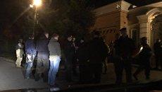 Автомайдан прибыл к  резиденции Петра Порошенко под Киевом