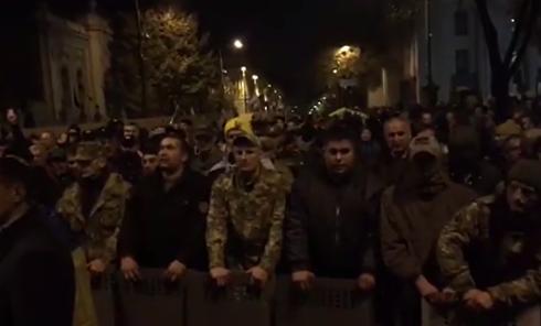 Бунт под Радой. Как протестующие призывали Киев вставать. Видео