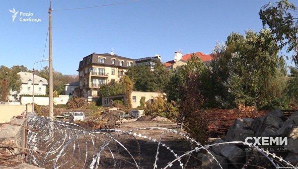 Участок Порошенко в Киеве