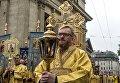 Депутат Госдумы РФ Виталий Милонов во время крестного хода