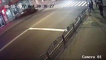 Появилось новое видео момента смертельной аварии в Харькове