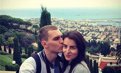 Жертвы аварии в Харькове. Александр Евтеев (на фото слева, погиб) и его жена Оксана Евтеева
