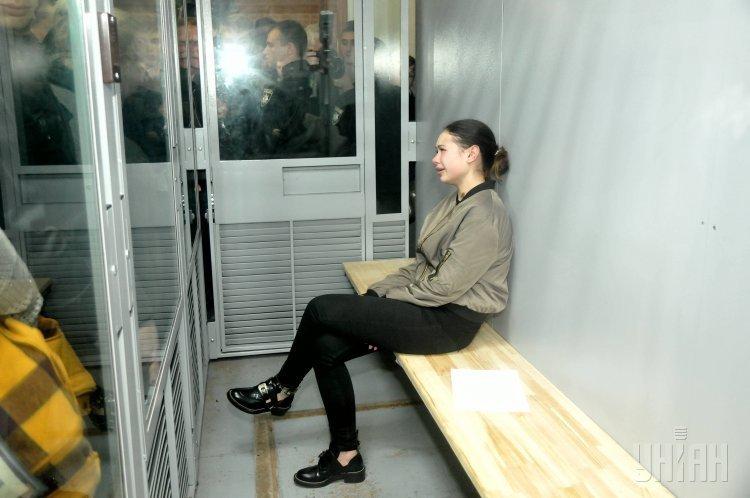 Суд избирает меру пресечения Елене Зайцевой в Харькове