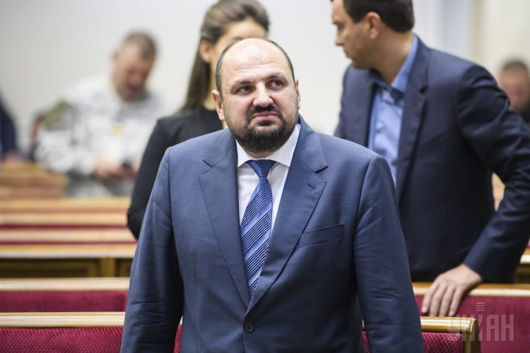 Народный депутат Борислав Розенблат в Верховной Раде 20 октября 2017