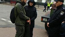 На месте ЧП в Киеве