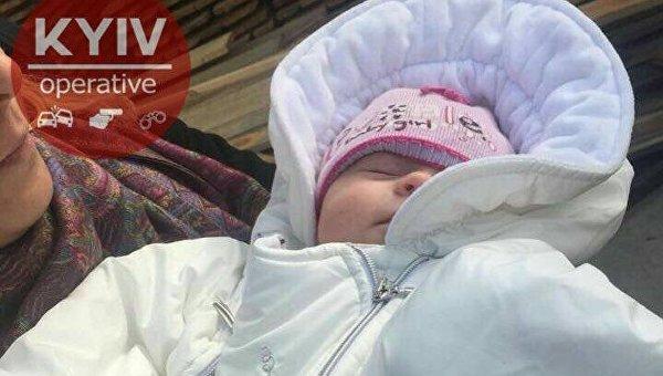 Ребенок, которого украли в Киеве